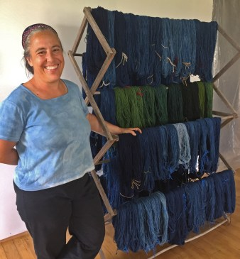 Woven Roots Fiber Story: A Dream of Indigo: Growing Natural Plant Dyes in South Central Kentucky
